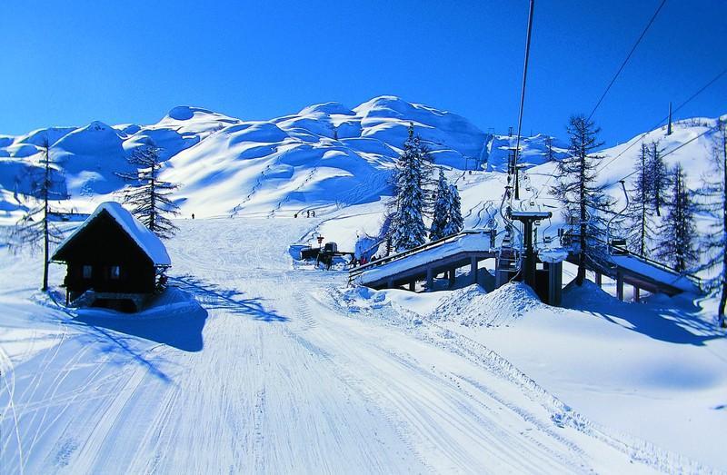 Горные лыжи в Словении