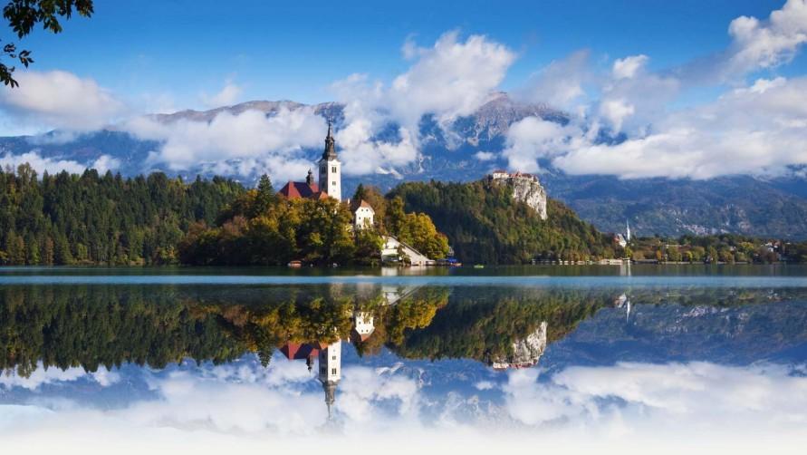 О Словении - Озеро Блед