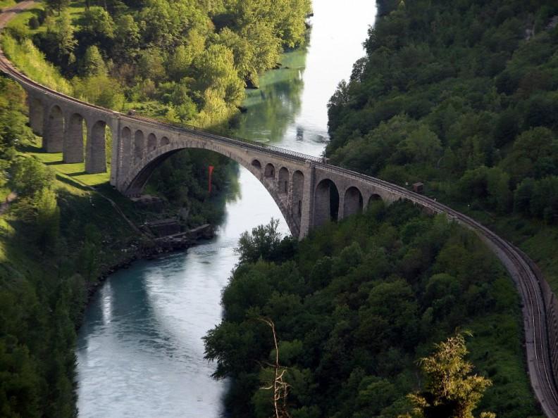 Мост Солкан с Другой стороны