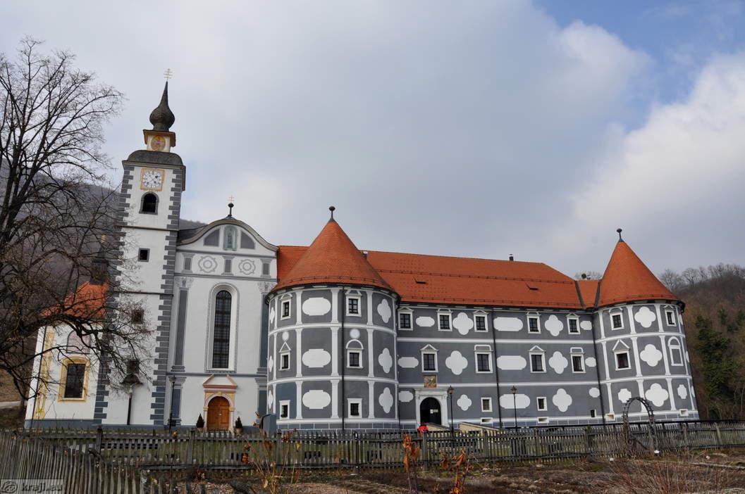 Монастырь в Олемии
