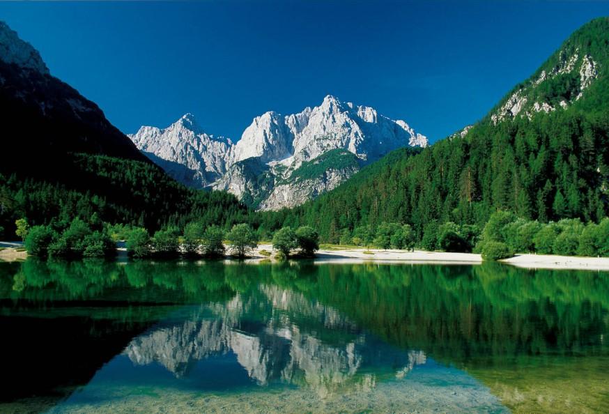 Зеленци Парк Словения