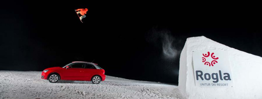 Snowboard rogla slovenia