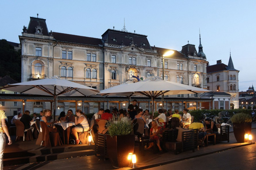 Поесть в Любляне Рестораны