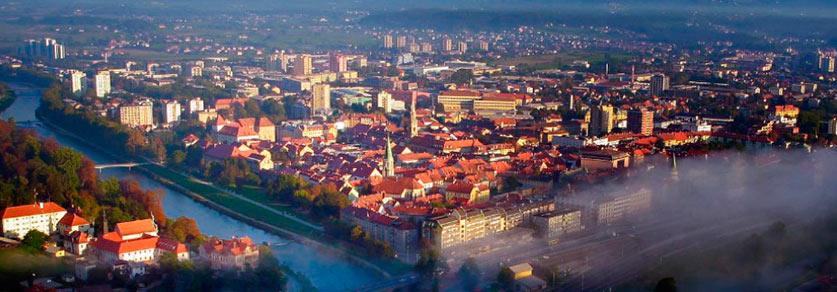Город Целе Словения